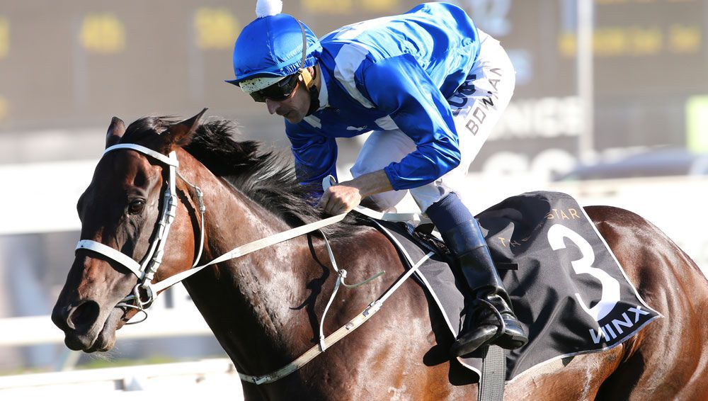 Winx scored another victory taking out the George Main Stakes at Randwick.(AAP)