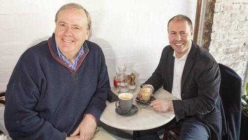 Peter Costello met with Australia's new Treasurer Josh Frydenberg.