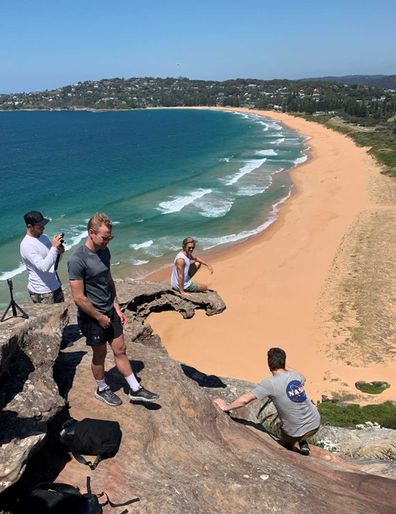 Barenjoey Lighthouse cliffs have become an Instagram attraction