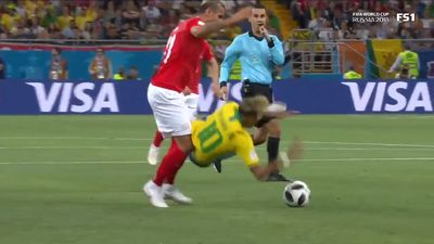 World Cup 2018: Football commentator fumes at Switzerland targeting Neymar