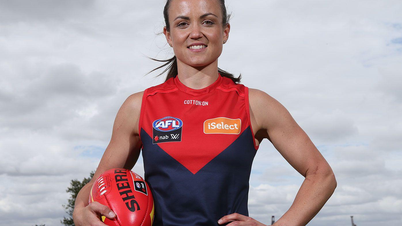 Melbourne Demons captain Daisy Pearce