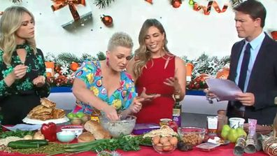 Food writer Jane de Graaff and Nutritionist Lyndi Cohen talk festive food swaps