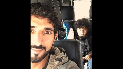 Al Maktoum favours riding riding around in a $270,000 Mercedes GF SUV, although going by Mohammed's unimpressed expression, maybe he would have preferred a Rolls Royce. <p></p><p></p>
