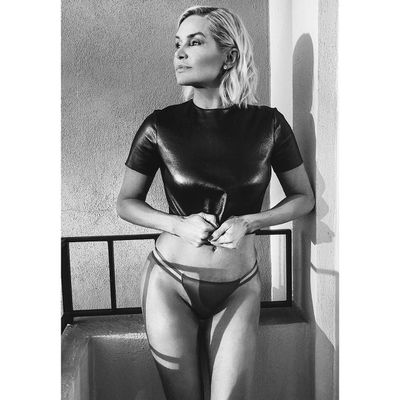 """Owning a physique so flawless that her own daughters, Gigi and Bella, may want to think about adding a few more push ups to their gym routine, former model and <em>Real Housewife</em>, Yolanda Hadid, 54, has demonstrated that<a href=""""https://style.nine.com.au/2018/06/22/10/53/brooke-shields-swimwear-bikini-body"""" target=""""_blank"""" title="""" age really is just a number.""""> age really is just a number.</a><br /> <br /> Yesterday, the former reality star took to<a href=""""https://www.instagram.com/yolanda.hadid/?hl=en"""" target=""""_blank"""" title="""" Instagram""""> Instagram</a> to share a snap of herself in bikini bottoms and a tight top with her 2.9 million followers, revealing that she&rsquo;s unapologetic about being in the best shape of her life.<br /> <br /> """"No longer engaged with the judgement of others but rather a profound sense of confidence, freedom and acceptance of the best version of myself with grace and gratitude...."""" posted Hadid.<br /> <br /> Hadid, who was a top swimwear and runway model in the &lsquo;80s and &lsquo;90s, has been battling chronic Lyme disease since 2012, an infectious illness which is spread by ticks.<br /> <br /> """"Most diseases you might want to battle out in the privacy of your own home,&rdquo; Hadid said at the Global Lyme Disease Awareness Gala in New York in 2016.<br /> <br /> """"But Lyme disease is so undervalued and so misunderstood by the world that it is an obligation to each and every one of us to share our story until we get the acknowledgment and the respect that we deserve from the medical establishments.'&rdquo;<br /> <br /> Despite her struggles, the mother-of-three has had something of <a href=""""https://style.nine.com.au/2017/03/23/06/40/yolanda-hadid-deal-gigi-bella-television-reality"""" target=""""_blank"""" title=""""a return to the spotlight over the past year."""">a return to the spotlight over the past year.</a><br /> <br /> In November 2017, Hadid starred in the short-lived Lifetime series <em>Making a Model</em>, a reality show where she put he"""