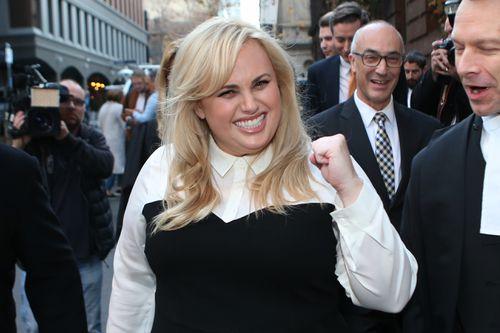 Wilson after winning her defamation case in June last year. (AAP)