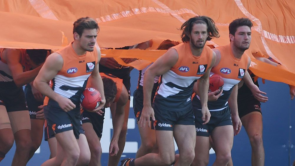 Heath Shaw says the youth of the Giants is now irrelevant. (AAP)