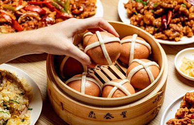 Cult dumpling house launch genius 'Hot Cross Baos'