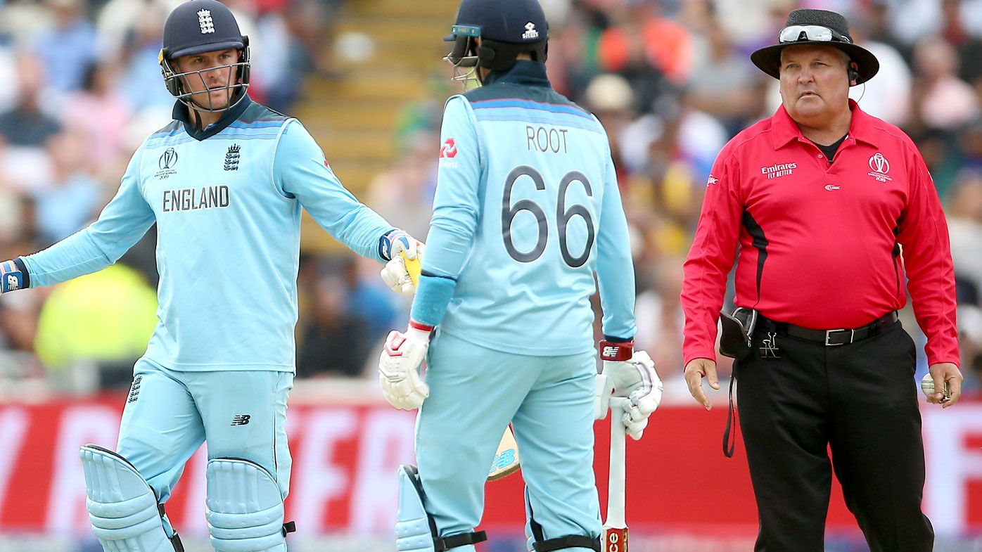 England opener Jason Roy escapes World Cup final ban after fiery explosion at umpire