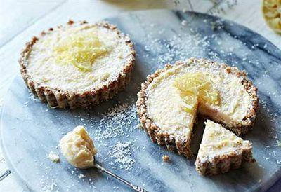 Brooke Meredith's gluten-free lemon curd tart