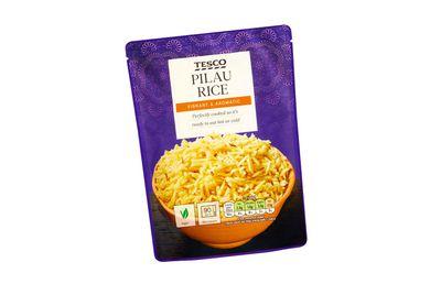 Tesco Pilau Rice Pouch 250g ($1.90)