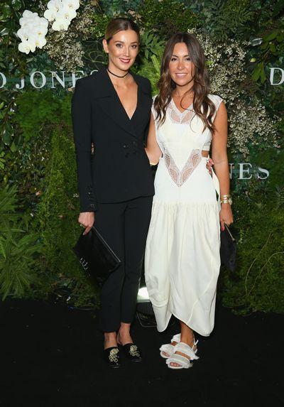 Model and show designer Yasmine Yarbrough and business partnerTamie Ingham