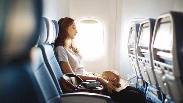 Cathay Pacific economy cabin