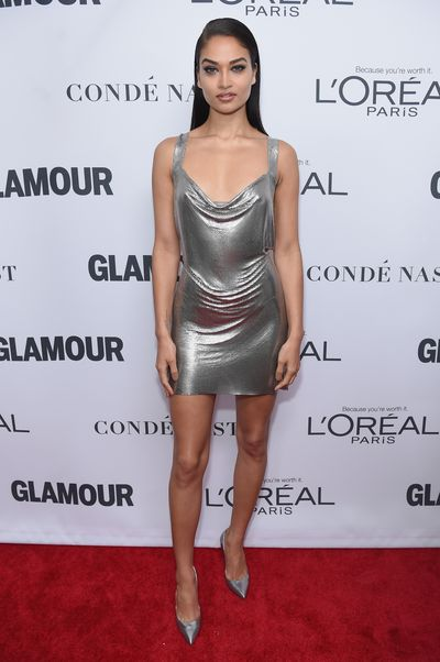 Shanina Shaik at the Glamour Women of the Year Awards, November 13.