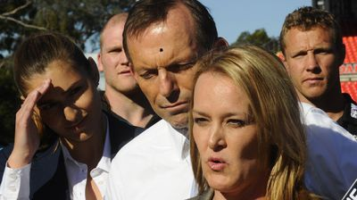 "Just one day after the suppository mix-up, Abbott relied on an interesting quality to link Fiona Scott, then Liberal candidate for the western Sydney seat Lindsay, and her predecessor Jackie Kelly. He told media they both had ""a bit of sex appeal"". Abbott played it down as exuberance and later dubbed it a daggy dad moment."