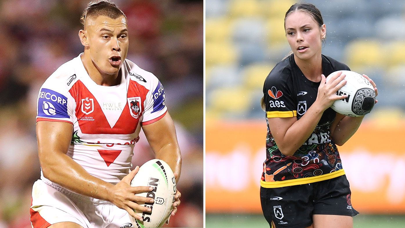 Fuimaono siblings make history with new rugby league contracts at St George Illawarra