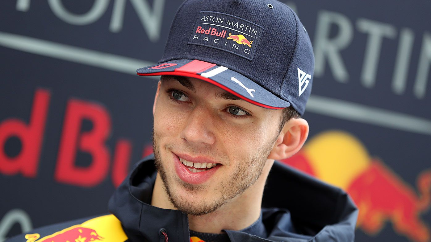 Red Bull Racing's Pierre Gasly
