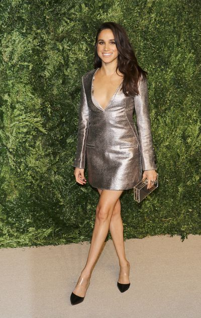 Meghan Markle at the 12th annual CFDA/Vogue Fashion Fund Awards  on November 2, 2015, in New York
