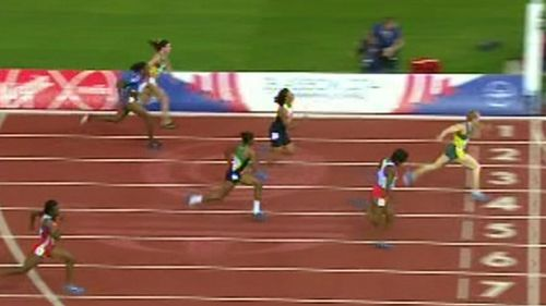 Pearson brought home victory ahead of England's Tiffany Porter and Canadian Angela Whyte, with a time of 12.67.