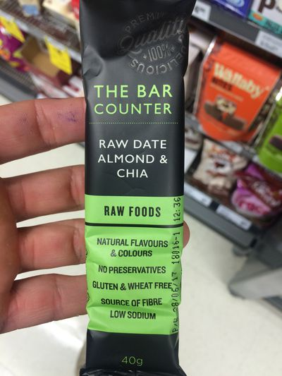 <strong>The Bar Counter Raw Date, Almond & Chia</strong>