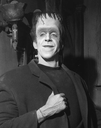 Fred Gwynne as Herman Munster from The Munsters.