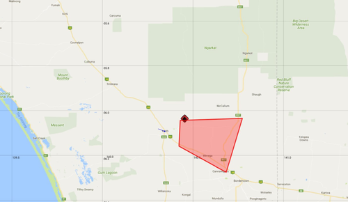 An emergency warning has been issued for residents in Sherwood and Brimbargo (CFS)