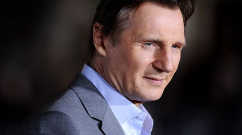 Liam Neeson at the 'Non-Stop' premiere. (AAP)