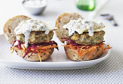 Indian vegie burgers
