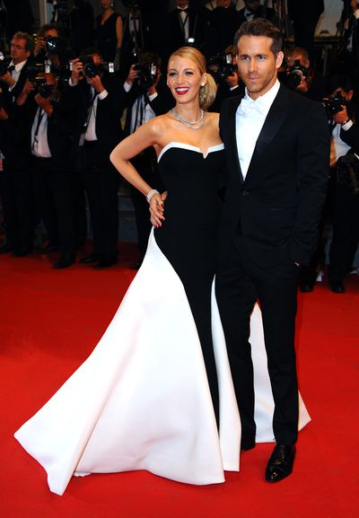 Blake Lively and Ryan Reynolds at the 67th Annual Cannes Film Festival on May 16, 2014 in Cannes, France