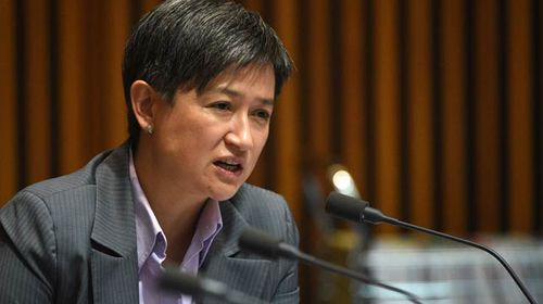 Penny Wong. (AAP)
