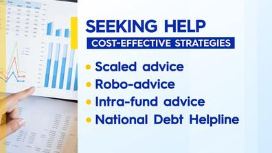 Cost-effective ways to seek financial advice.