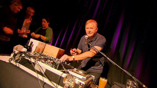DJ Albo played to around 250 people last night. (9NEWS)