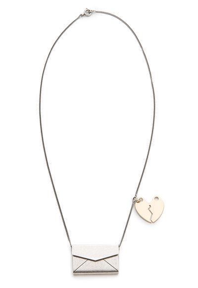 "<a href=""Locket necklace, $595.80, Maison Margiela at shopbop.com"" target=""_blank"">Locket necklace, $595.80, Maison Margiela at shopbop.com</a>"