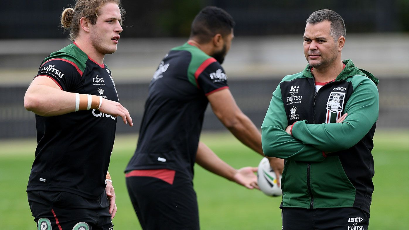 Anthony Seibold at the Rabbitohs