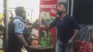 Western Sydney man mask compliance police arrest