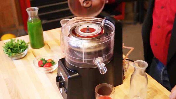 Spinzall culinary centrifuge