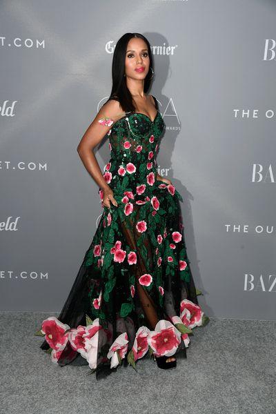 Kerry Washington in Dolce & Gabbanaat the 20th Annual Costume Designers Awards