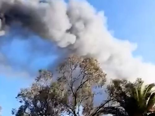 Nearly 50 firefighters worked to contain the factory fire.