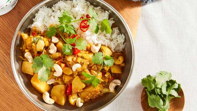Veggie-ful curry