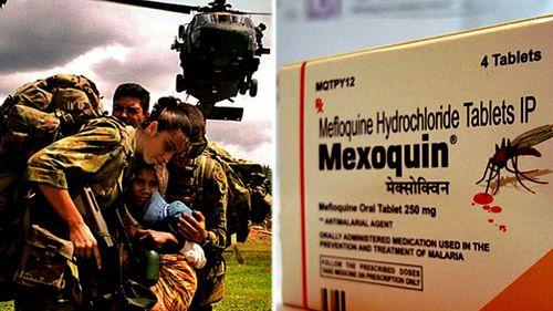 Australian soldiers serving in East Timor during 2000 to 2002 were given the anti-malaria drug mefloquine. (Photo: AAP).