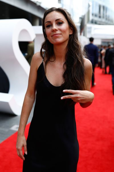 Singer Amy Shark at the 2017 ARIA Awards