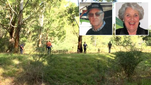 Russell Hill and Carol Clay have been lost in Victoria's high country since March 20.