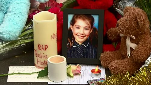Thalia Hakin was farewelled at a private funeral. (AAP)