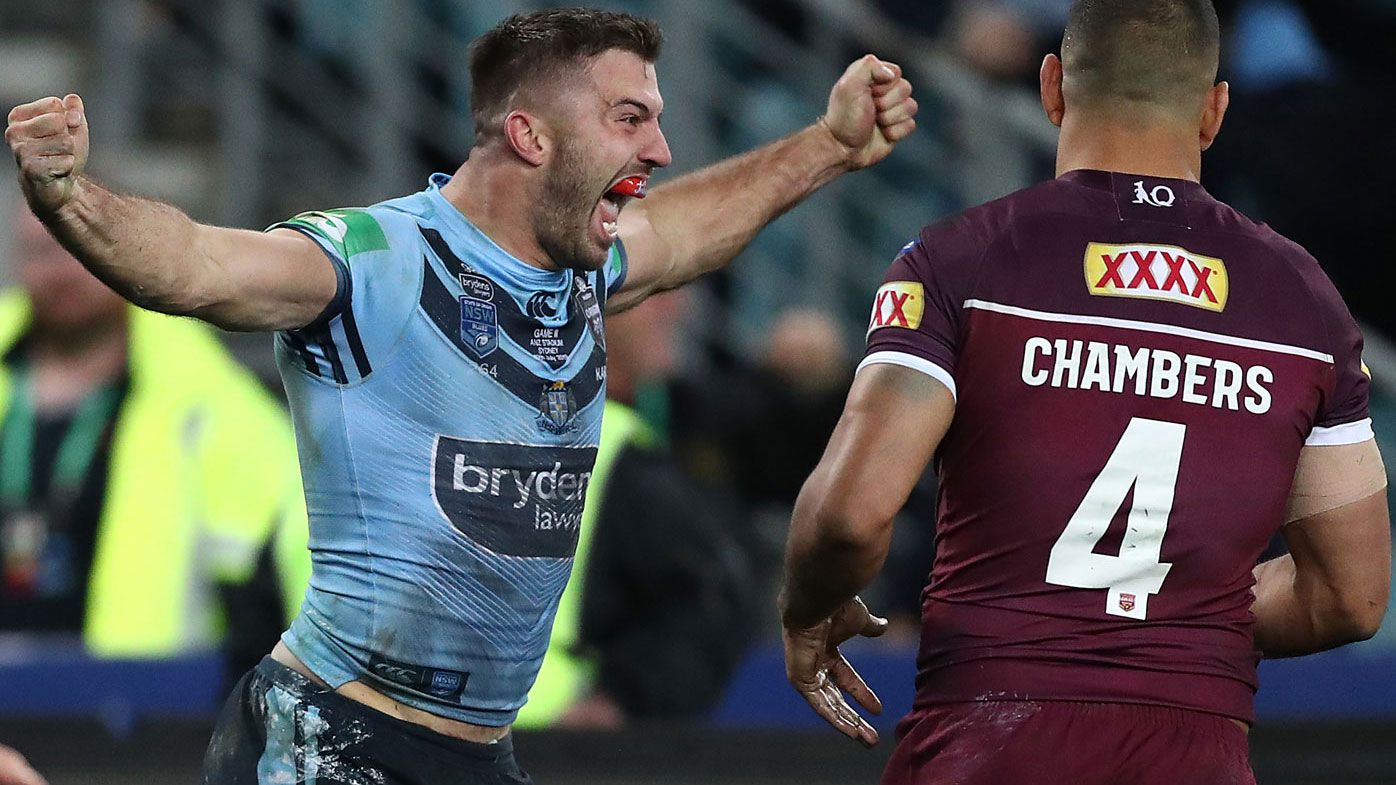 State of Origin kick-off times in NSW AEDT, Queensland AEST, Adelaide AEDT for Game 1