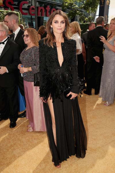 Actress Keri Russell at the 70th Annual Emmy Awards