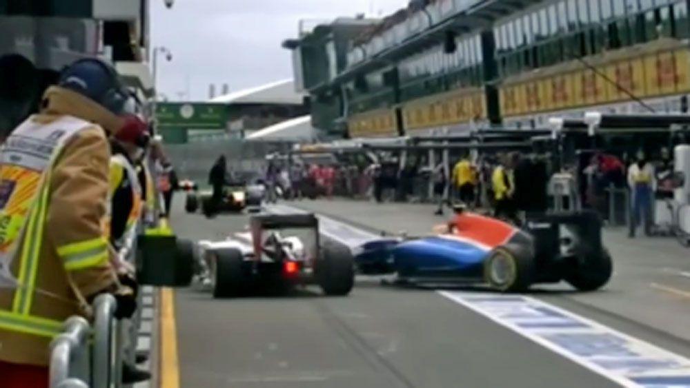F1 drivers mocked after 'slowest' crash ever