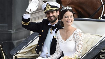 Prince Carl Philip of Sweden and Sofia Hellqvist