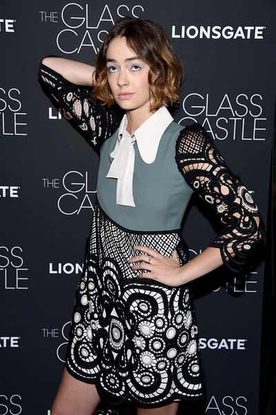 Brigette Lundy-Paine in Chloe at the premier of<em>The Glass Castle</em>.