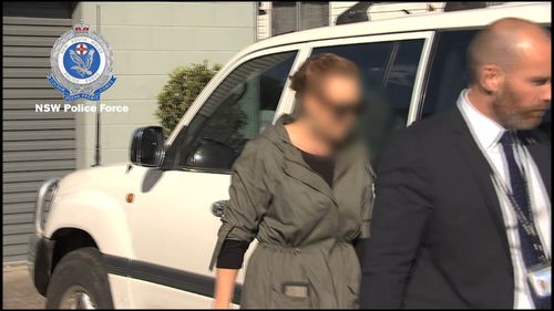 A 34-year-old woman was arrested at her NSW home. Picture: NSW Police