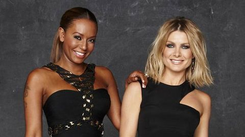 Mel B: <i>X Factor</i> fights with Nat Bass are just for the cameras