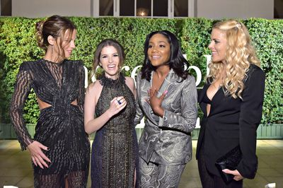 Kate Beckinsale, Anna Kendrick, Tiffany Haddish and Busy Philipps attend PORTER's Third Annual Incredible Women Gala at The Ebell of Los Angeles on October 9, 2018 in Los Angeles, California